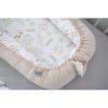 Réducteur de lit velours ivoire - Tiny Star