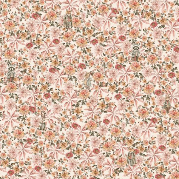 papier peint cute mister flower 2