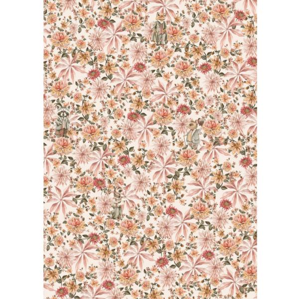 papier peint cute mister flower 3