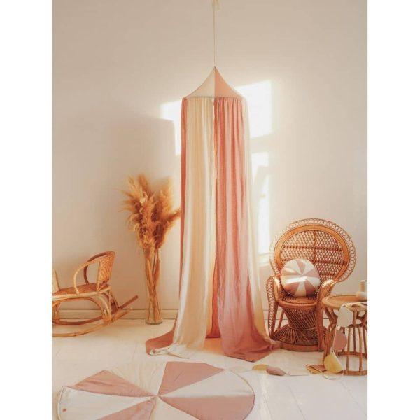 ciel de lit powder pink circus moi mili (5)