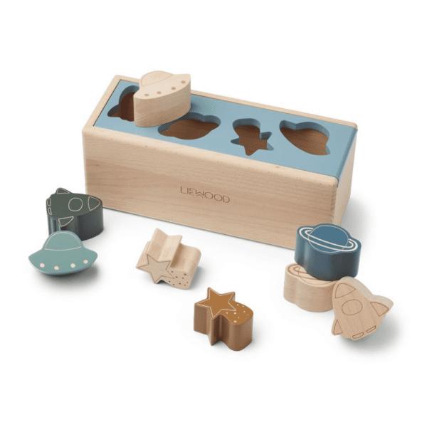 midas puzzle box space blue fog multi mix liewood 2