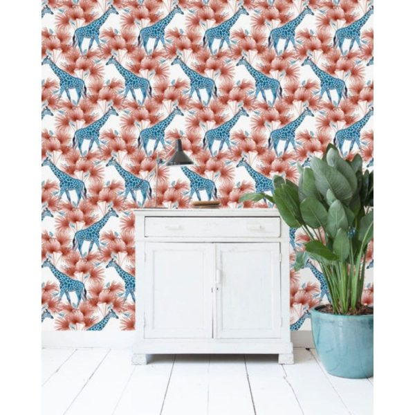 papier peint blue giraffe – creative lab amsterdam (2)