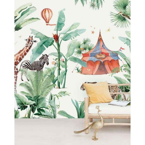 papier peint jungle circus creative lab amsterdam (7)