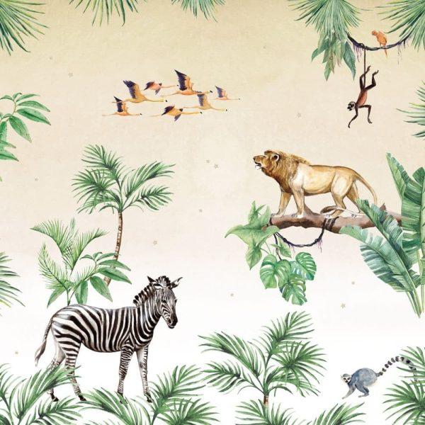 papier peint king of the jungle creative lab amsterdam (1)