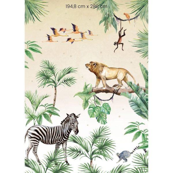 papier peint king of the jungle creative lab amsterdam (2)