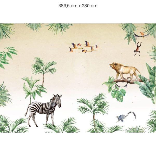 papier peint king of the jungle creative lab amsterdam (4)