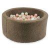 piscine à balles ronde teddy mokka (1)