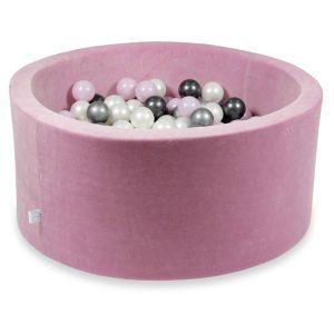 piscine à balles ronde velvet raspberry (13)