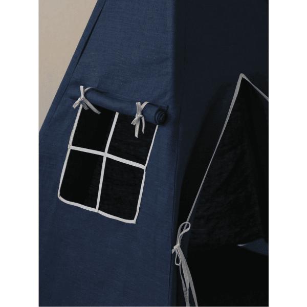 tipi lin navy blue 3