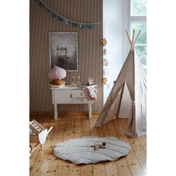 tapis feuille 100 % lin (1)