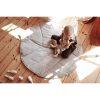 tapis feuille 100 % lin (2)